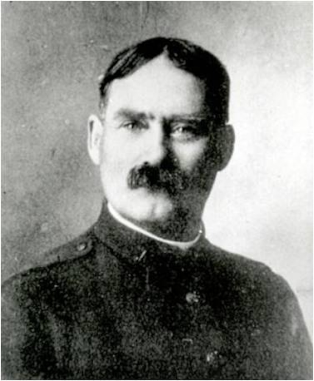 Army Chaplain (Capt.) James Naismith, who invented basketball, was assigned to the Kansas Army National Guard. U.S. Army photo