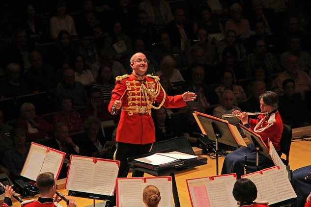 On Sept. 10, 2014, the Marine Band performed at Helzberg Hall at the Kaufman Center while on tour in Kansas City. Photos by Eric T. Williams, Kansas City Symphony.