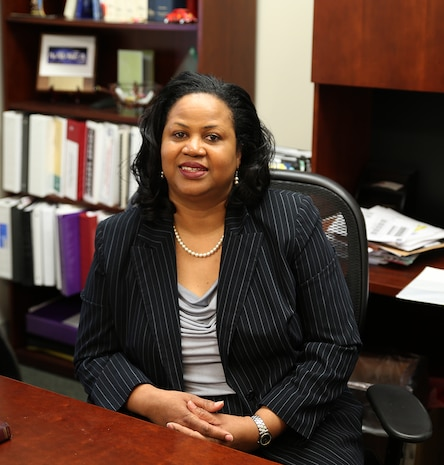 In honor of Women's History Month, Marine Corps Systems Command is highlighting two women leaving their marks on the command and making a difference in the lives of those around them. Beverly Hobbs is the competency manager for Contracts at MCSC. She attributes her success to values instilled by her parents, and the advice and example of mentors and good managers throughout her career.
