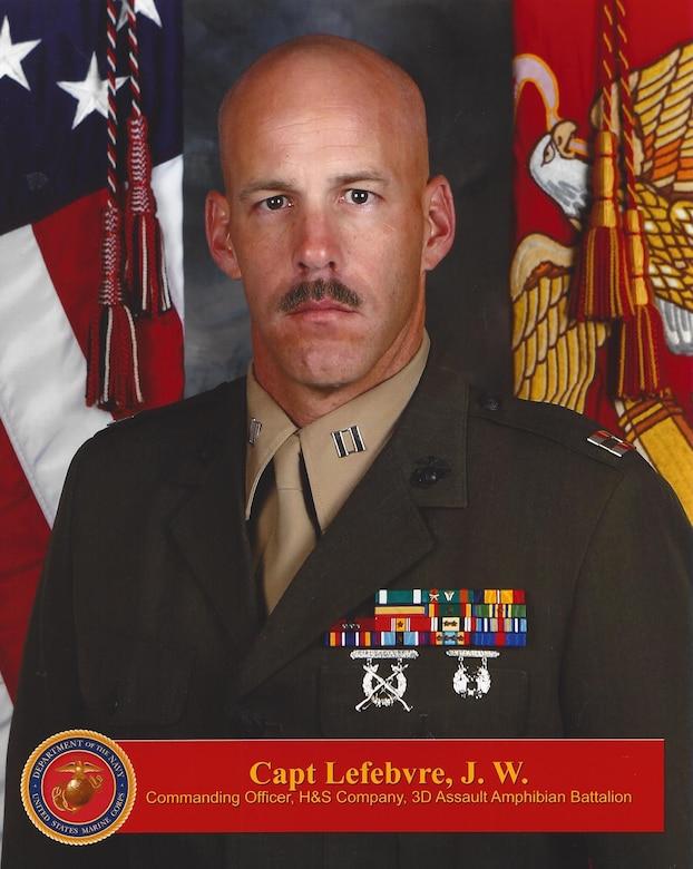 Captain John Lefebrve