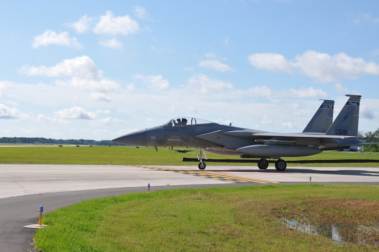 An F-15 Eagle from the 125th Fighter Wing, Jacksonville, Fla.