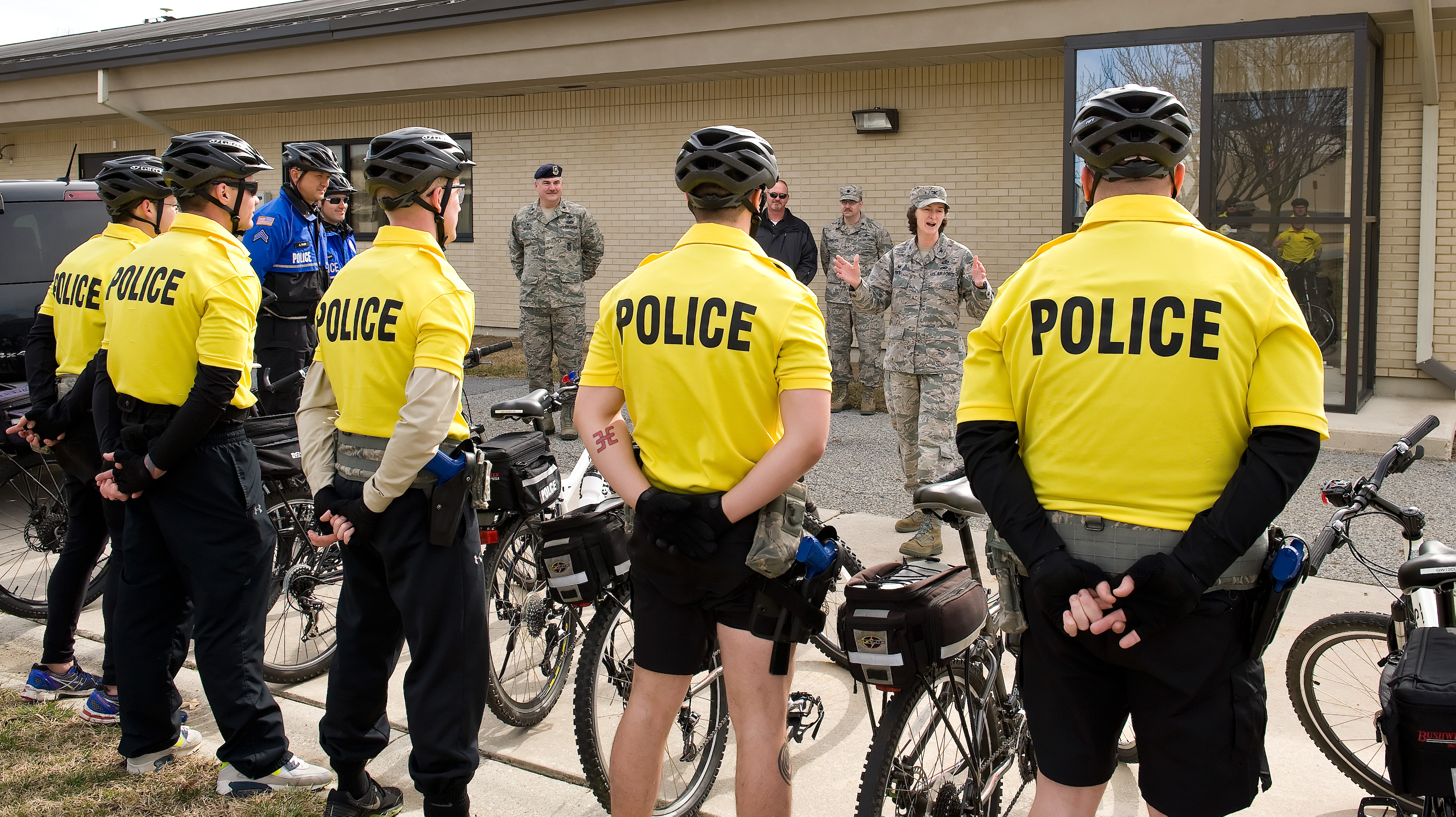 436th SFS pedals to strengthen community relations > Dover