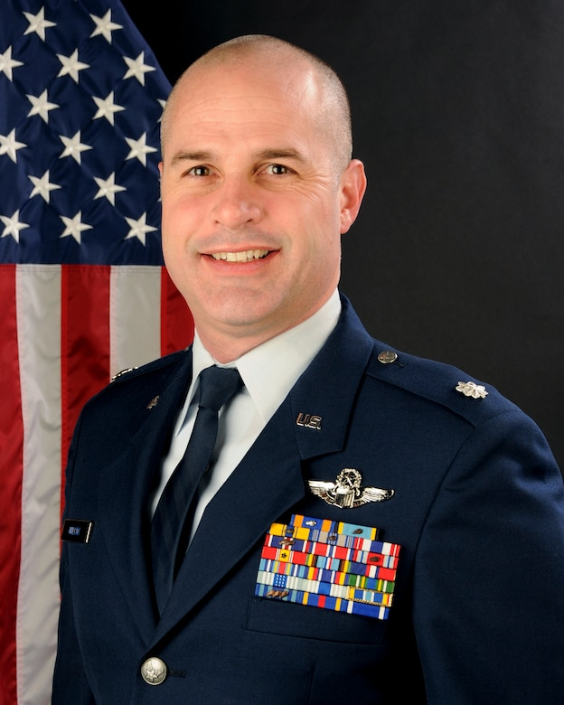 U.S. Air Force Lt. Col. John Wilcox, 169th Fighter Wing Inspector General at McEntire Joint National Guard Base, S.C. (Air National Guard Photo by Tech. Sgt. Caycee Watson/Released)