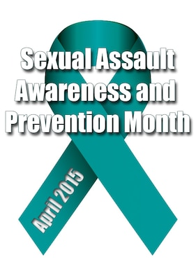 """April is Sexual Assault Awareness and Prevention Month. SAAP month is a global observance aiming to shine a light on sexual assault. This year's theme is """"Eliminate Sexual Assault: Know Your Part. Do Your Part."""" Eliminating sexual assault requires every service member be a steadfast participant in creating an appropriate culture and upholding military core values. (U.S. Air Force graphic by Airman 1st Class Zade C. Vadnais)"""