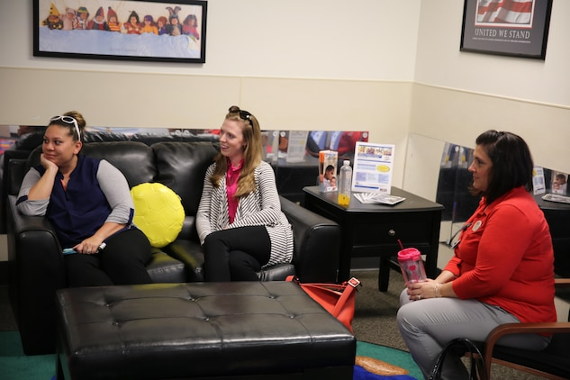 Families aboard Laurel Bay have a new parental support oasis. A grand opening ceremony was held to officially open the Marine Corps Family Services Child Development Center, April 21.