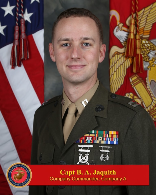 Captain Jaquith, B. A.