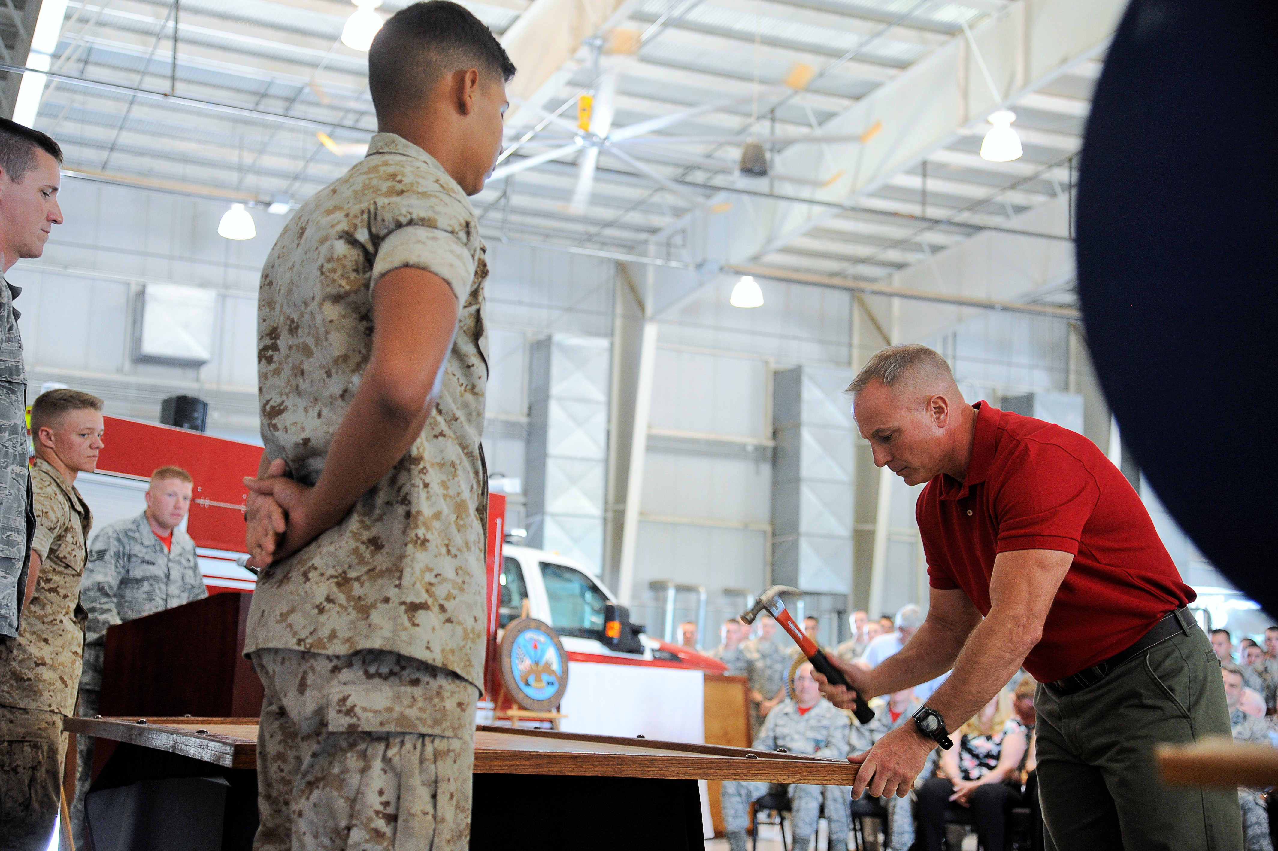 fire academy celebrates years of training > goodfellow air fire academy celebrates 20 years of training