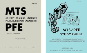 1980 and 1982 Enlisted Promotion Study Guide Covers