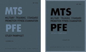 1976 and 1978 enlisted study guide covers