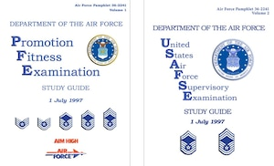 1997 Enlisted Study Guide Covers