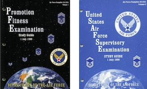 1999 Enlisted Study Guide Covers