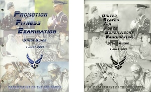 2001 Enlisted Study Guide Covers