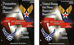 2003 Enlisted Study Guide Covers
