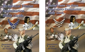 2005 Enlisted Study Guide Covers