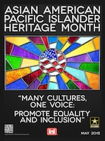 During the month of May we celebrate Asian American and Pacific Islander Heritage Month.