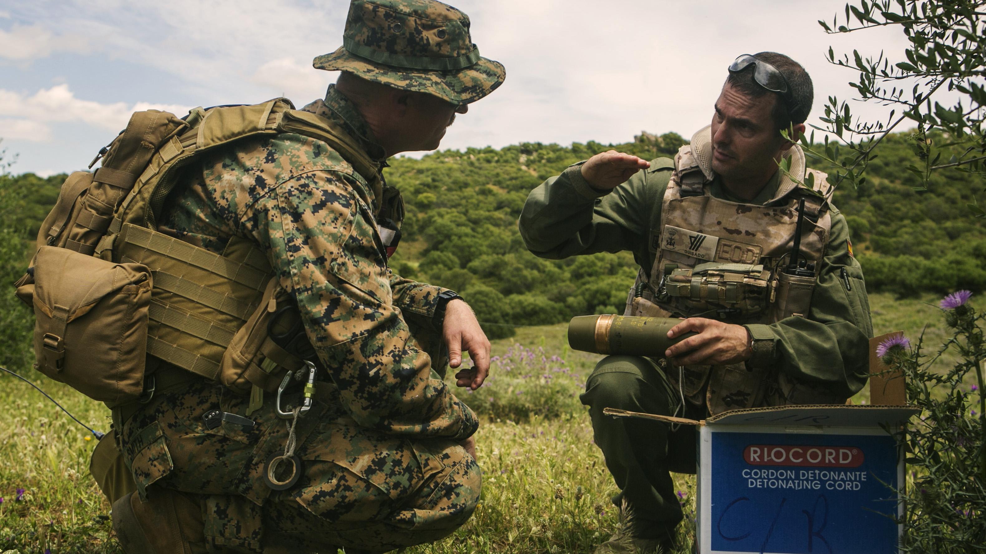 EOD international: U.S., Spanish Marines complete ...