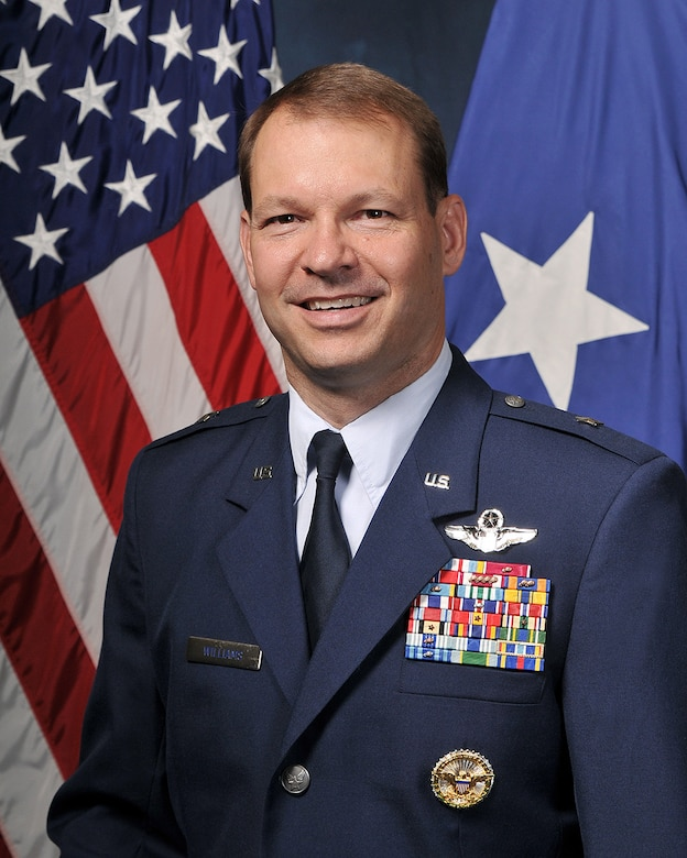 Brig. Gen. Stephen Williams, the U.S. Air Force Academy's commandant of cadets. (U.S. Air Force photo)