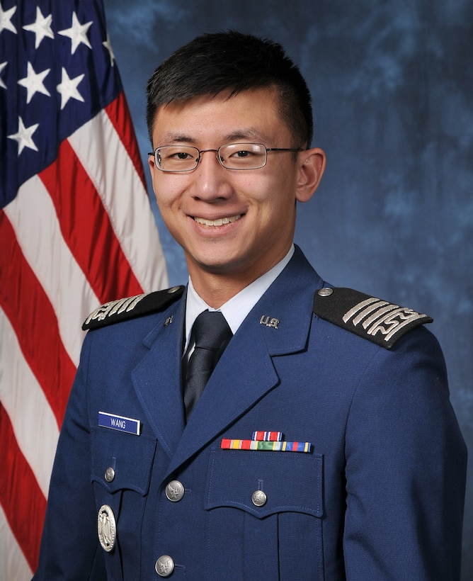 Cadet 1st Class Kwo-Zong Wang will be a member of a U.S. Air Force Academy's Class of 2015. Wang is scheduled to graduate from the Academy May 28, 2015, with a bachelor's degree in Foreign Area Studies. (U.S. Air Force photo)