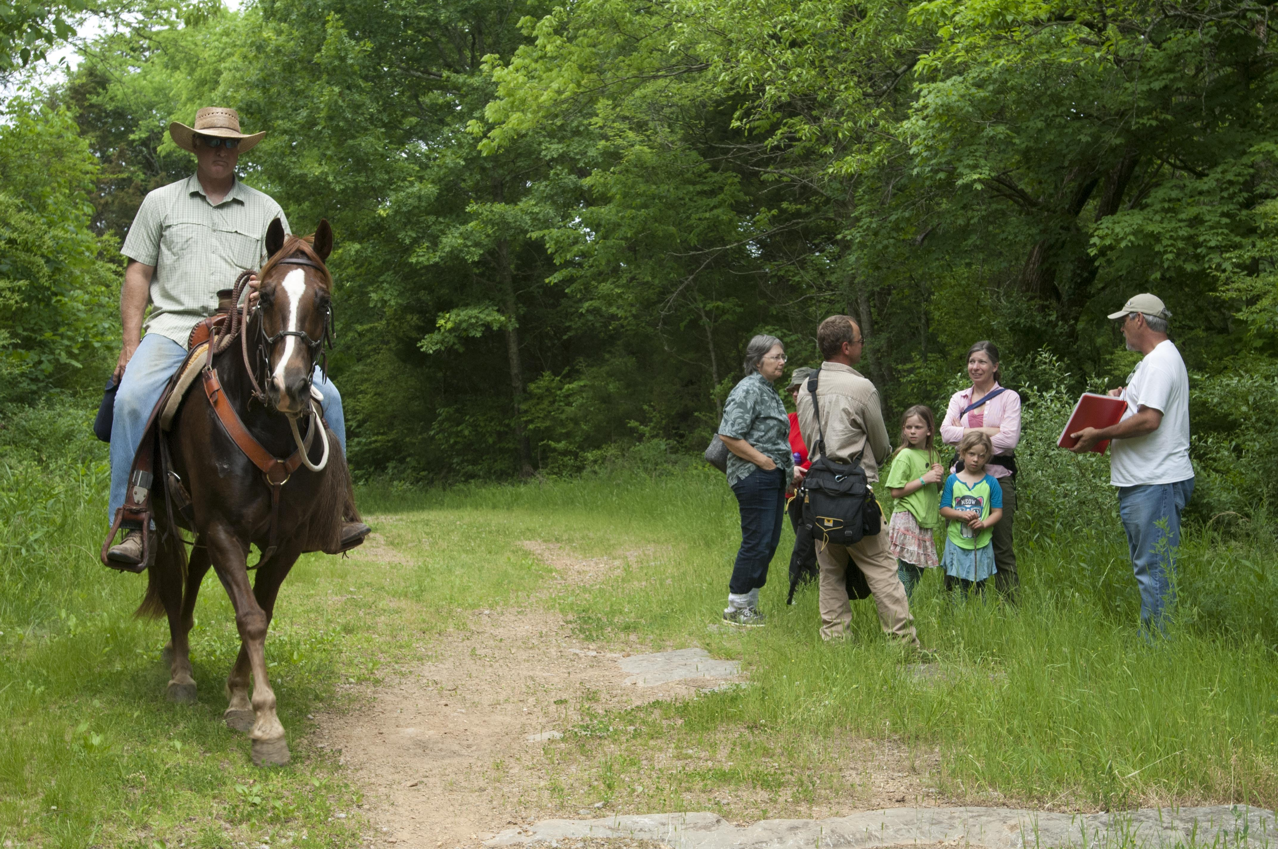 Corps invites public to hike rediscovered segment of Trail