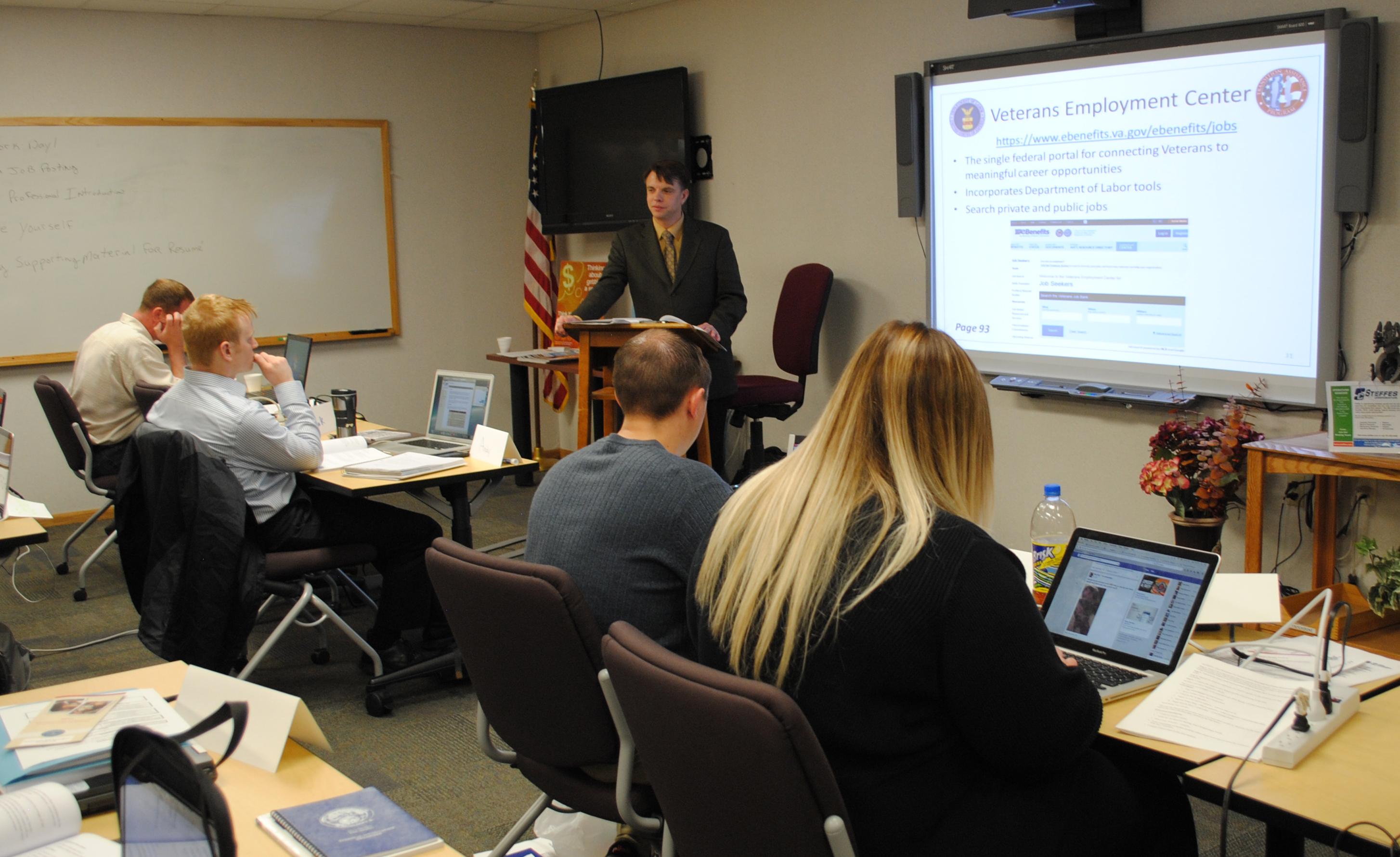 Transition Assistance Program prepares service members for civilian life