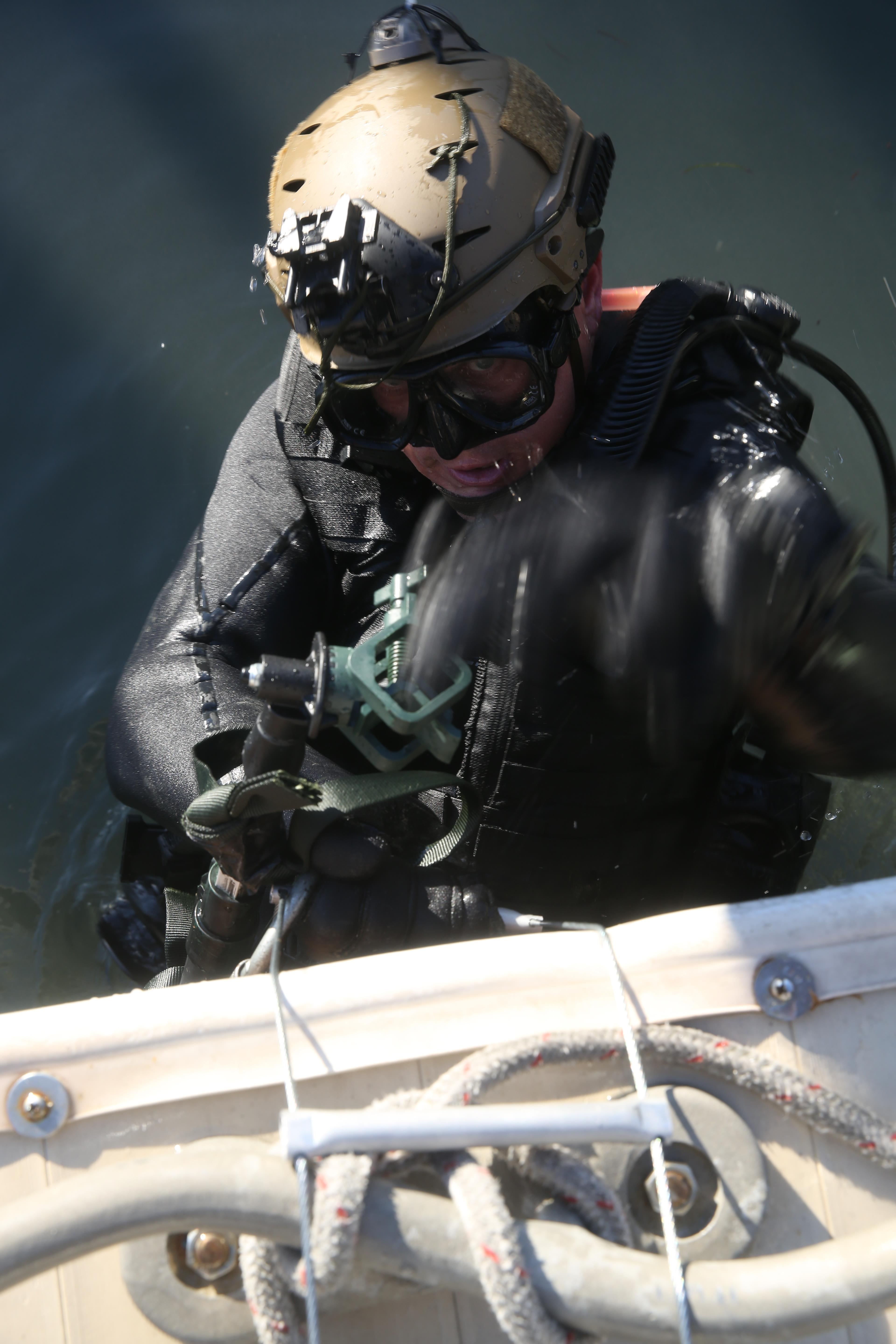 Marine Special Operations Team Trains At Key West Beaches