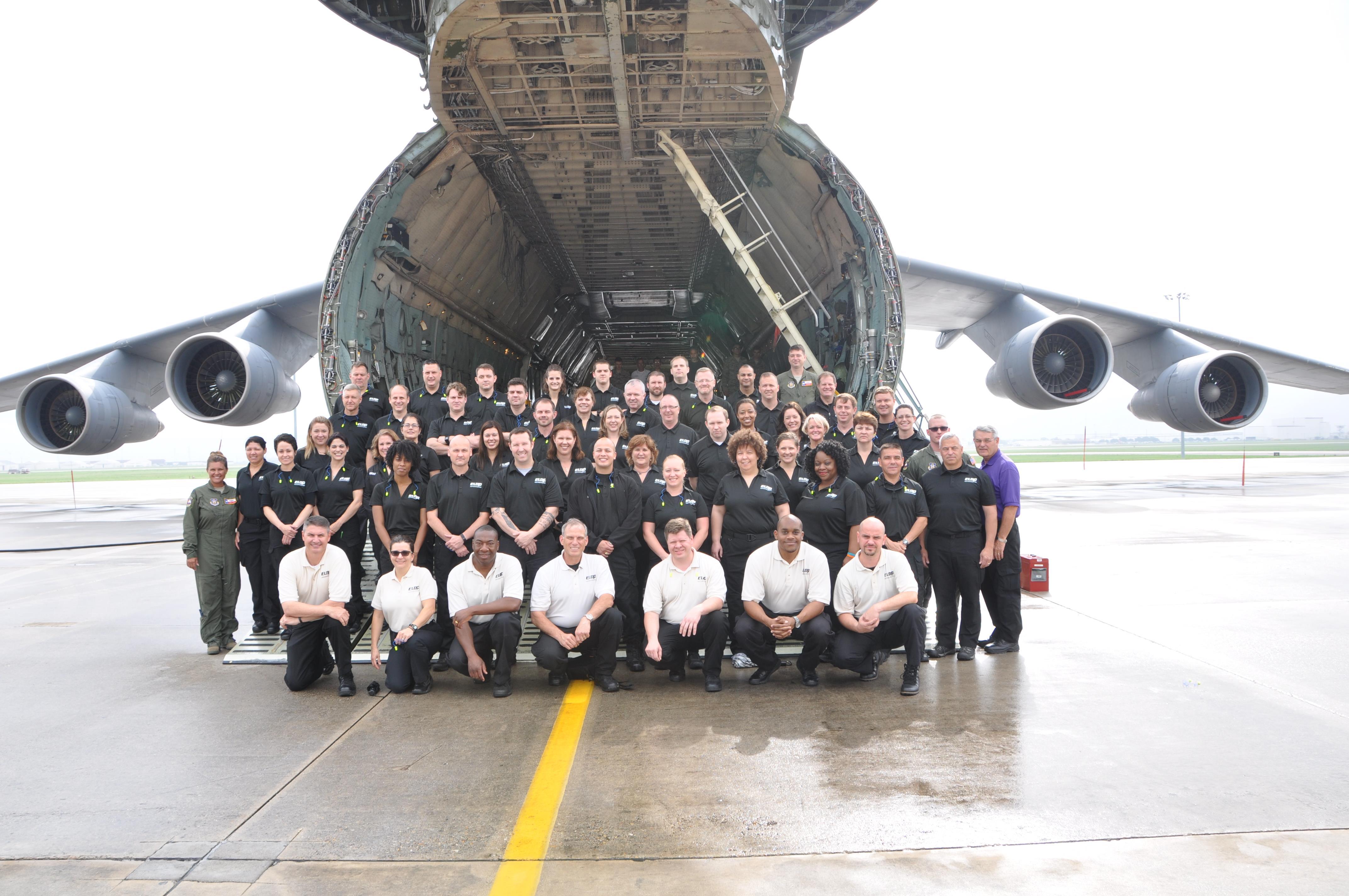 Dod Leadership Program Visits Alamo Wing Air Force Reserve Command