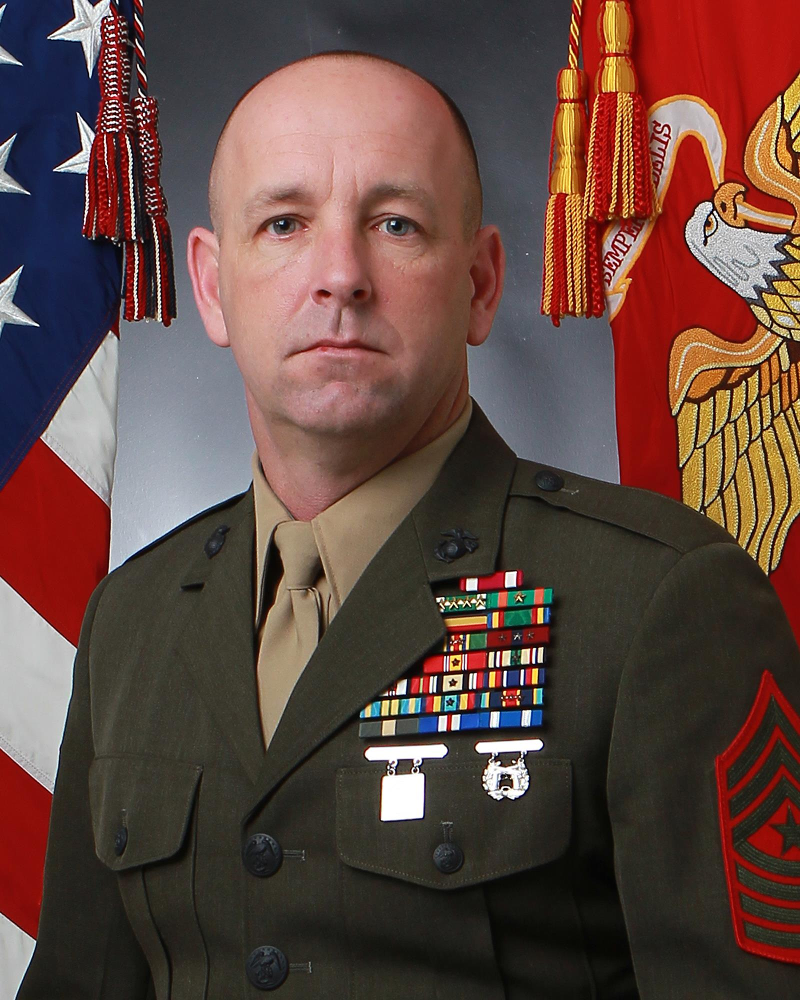 Sergeant Major Darby J. Noonan > Marine Corps Security Force ...