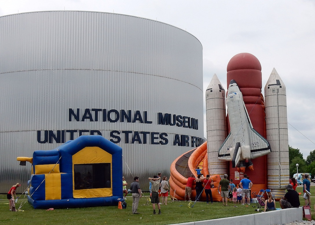 DAYTON, Ohio (05/2015) -- Participants enjoyed a number of hands-on activities during Space Fest on May 15-16 at the National Museum of the U.S. Air Force. (U.S. Air Force photo by Don Popp)