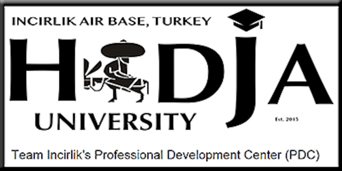 Hodja University (U.S. Air Force graphic)