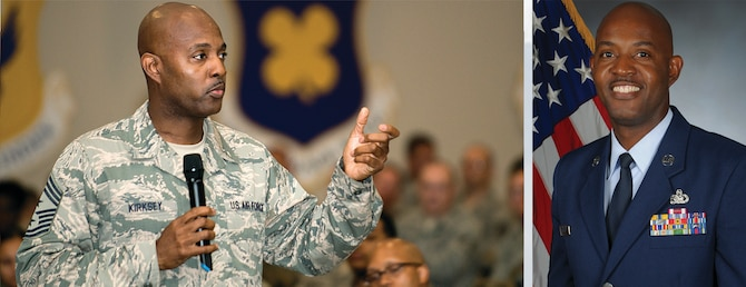 Chief Master Sgt. Cameron B. Kirksey, Air Force Reserve Command command chief