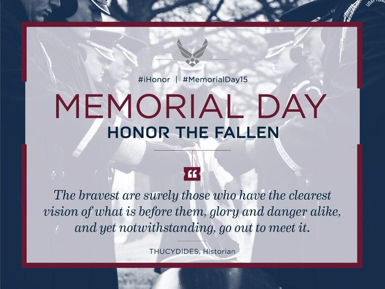 Memorial Day 2015 (Courtesy graphic)