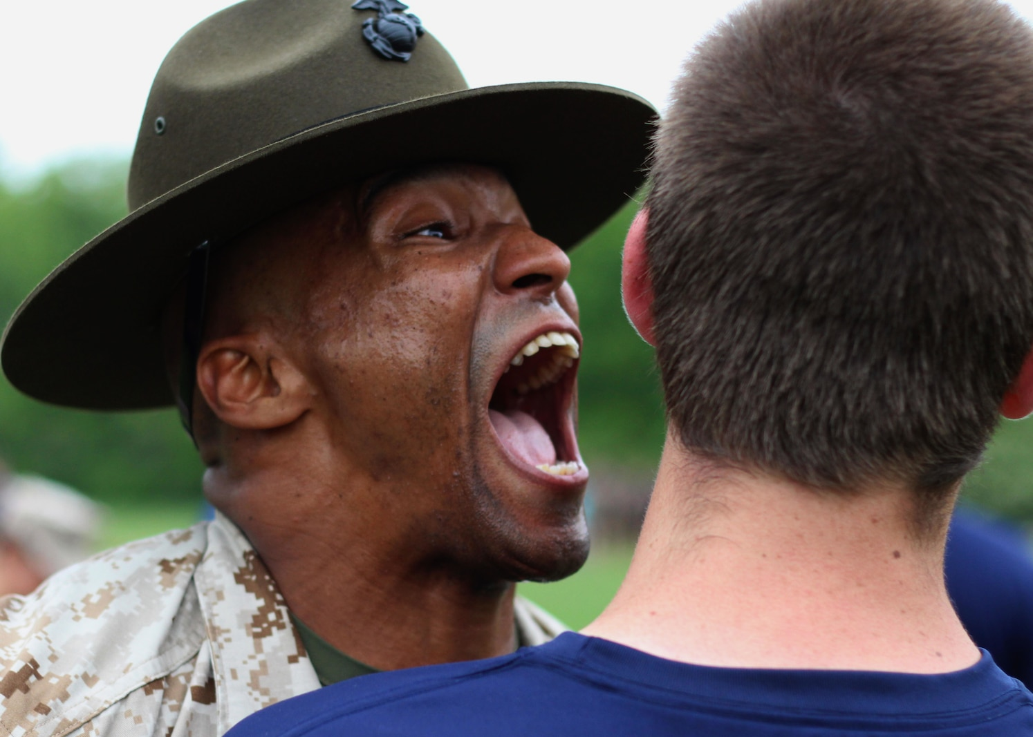 Marines from Recruiting Station Indianapolis hosted their annual statewide pool function in Indianapolis, Indiana May 16, 2015. The young men and woman train to become the next generation of America's tough, smart and elite warriors by preparing their minds and bodies for the rigors of Marine Corps recruit training.Photo by Sgt. Tyler S. Mitchell