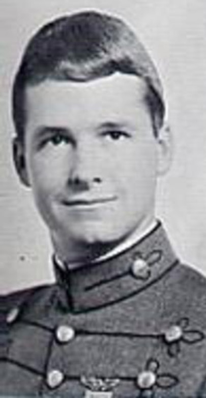 Air Force Capt. Glenn Cook was a Vietnam War veteran whose plane was shot down near Nha Trang, Vietnam, Oct. 21, 1969. His remains were never found. He was honored the U.S. Air Force Honor Guard held a flag folding ceremony May 19, 2015, at the Vietnam Veteran's Memorial in Washington, D.C. (Courtesy photo)
