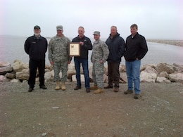 Brig. Gen. Richard Kaiser presented