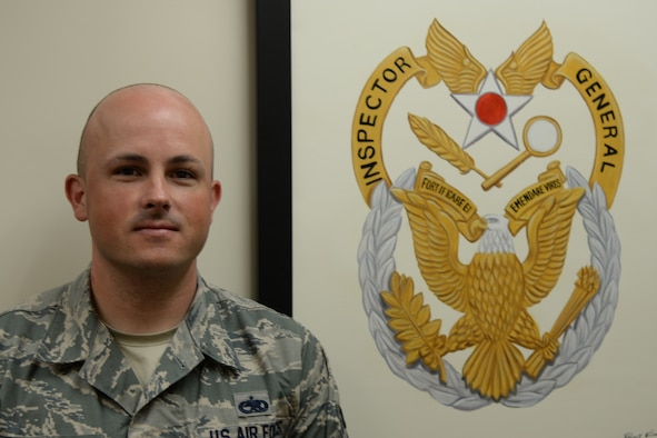 Tech. Sgt. David Clifford, 51st Fighter Wing Inspector General's Office NCO in charge of exercises and inspections poses for a photo May 26, 2015, at Osan Air Base Republic of Korea. Clifford was chosen as a Team Osan Spotlight award winner. Individuals who are chosen for this spotlight recognition are distinguished as consistent, superior performers within their squadrons.