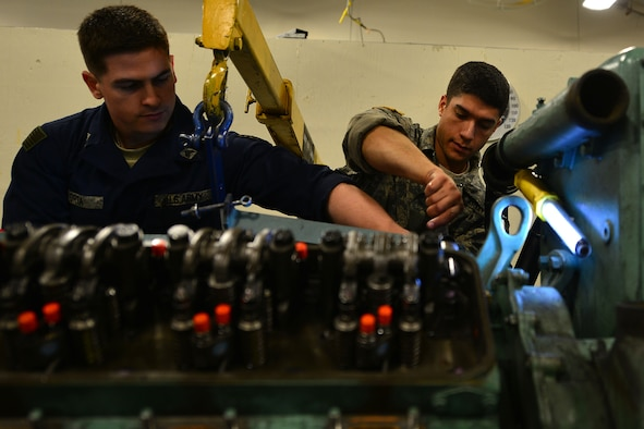 Soldiers learn to repair, maintain Army vessel machinery > Joint ...