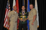 SPC Adam Ahmad, USAR, WA gold medalist at the 2015 Armed Forces Bowling Championship held at NAS Jacksonville, Fla. from 11-18 May