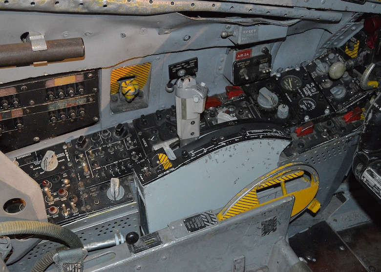 DAYTON, Ohio -- Convair F-106A Delta Dart cockpit in the Cold War Gallery at the National Museum of the United States Air Force. (U.S. Air Force photo)