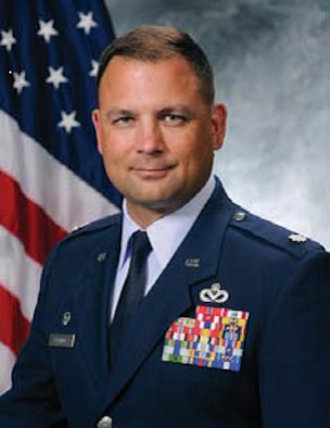 Lt. Col. Nathan Clemmer is the 50th Civil Engineer Squadron commander at Schriever Air Force Base, Colorado. (U.S. Air Force photo)