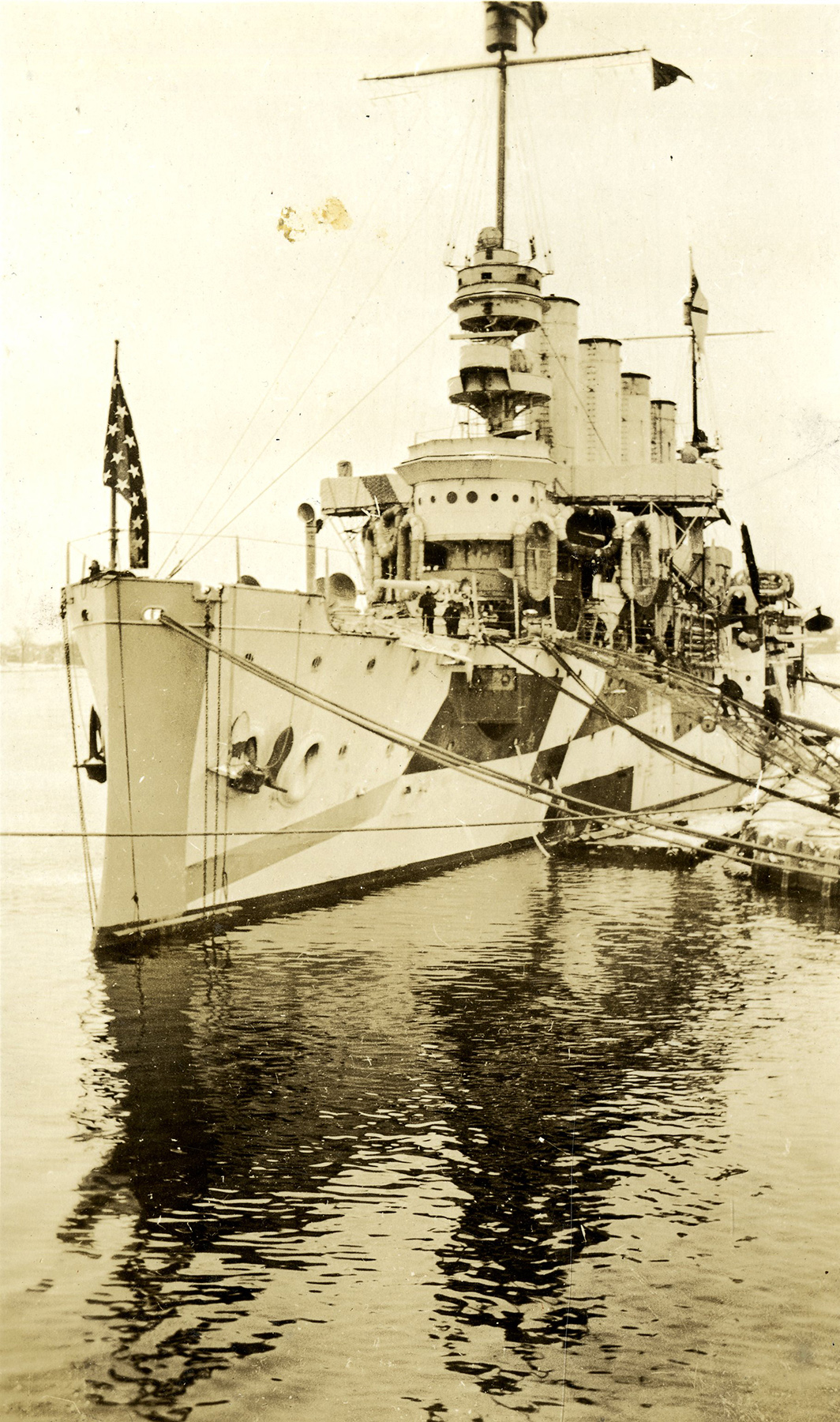 Dazzle Camouflage On Troop Ships National Museum Of The Us Air