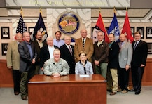 On October 30, the Vicksburg District of the U.S. Army Corps of Engineers conducted a signing ceremony for the Amended Feasibility Cost Share Agreement (FCSA) for the Southeast Arkansas and Northeast Louisiana Feasibility Study.