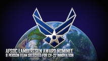AFSOC Lambertsen Award Nominee Eight person team selected for CV-22 innovation