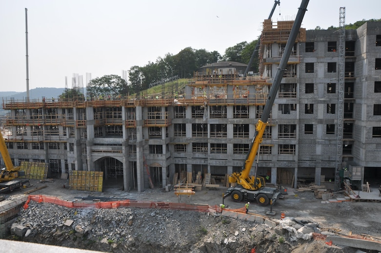 Davis Barracks is under construction and is expected to be completed in winter 2016.