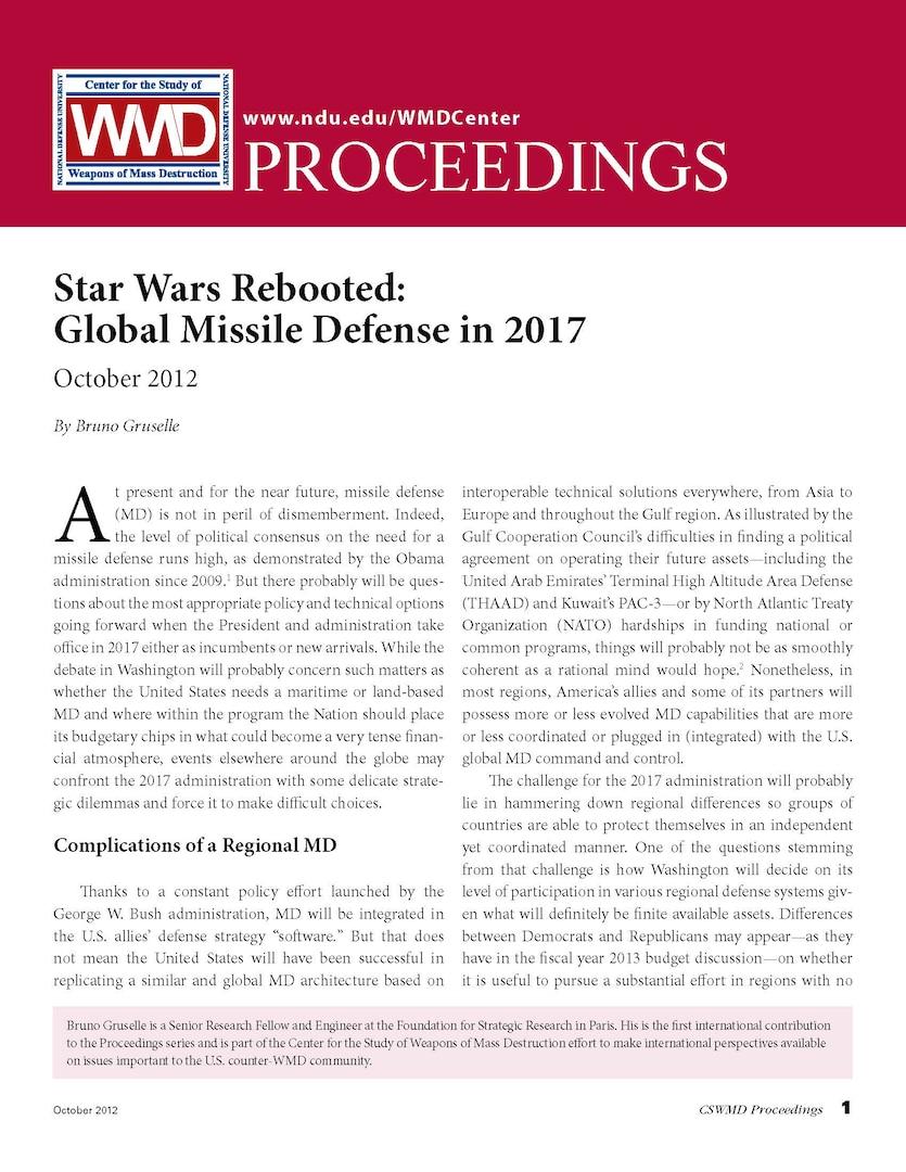 Star Wars Rebooted: Global Missile Defense in 2017