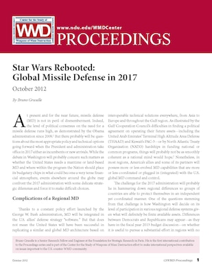Star Wars Rebooted: Global Missile Defense in 2017