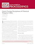 Future Foreign Perceptions of Chemical Weapons Utility