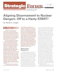 Aligning Disarmament to Nuclear Dangers: Off to a Hasty START?