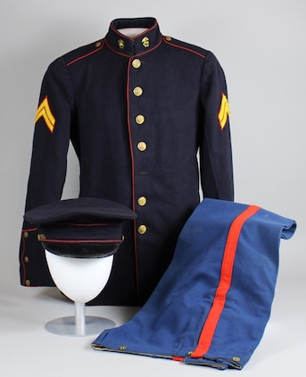 dress blues from the 1920s shed light on the inter war years aboard