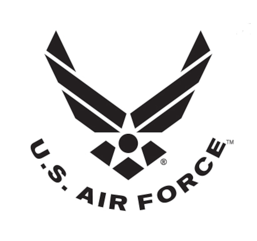 The Air Force Symbol is a registered trademark. Use of this logo by any non-Federal entity must receive permission from the Air Force Branding and Trademark Licensing Office at licensing@us.af.mil.