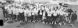 On Sept. 19, 1994, 119 USACE employees and family members participated in the Corporate Cup 10k in downtown Omaha. Joe Chamberlain was the top finisher for the USACE team with a time off 33:28. Chamberlain finished 8th overall.